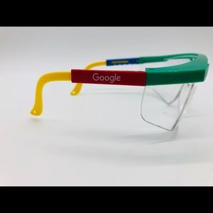 Google making science clear safety glasses